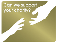 Can we support your charity?